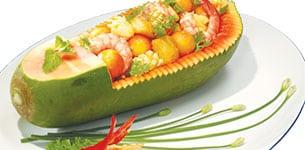 Gỏi hải sản phương Đông
