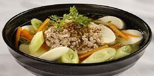Canh boaro nấu đậu hũ non