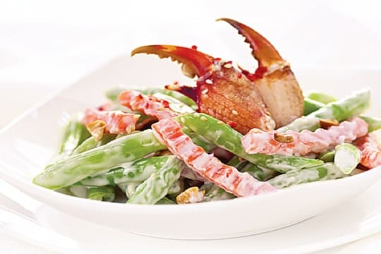Salad đậu cô ve