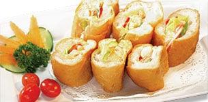 Bánh mì kẹp tôm trộn Mayonnaise