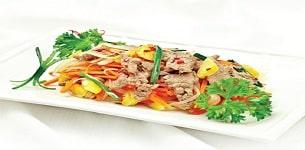 Thịt bò xào kiểu Hàn Quốc