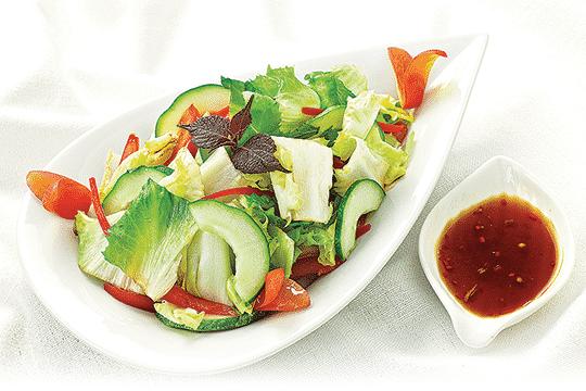 Salad trộn kiểu Nhật