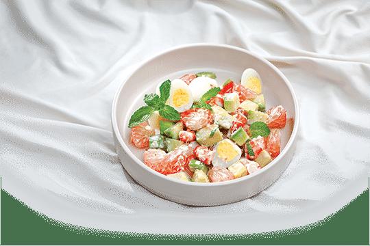 Salad bưởi trộn bơ