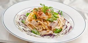 Salad mì Ý chua ngọt