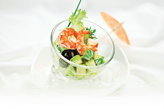Salad trái bơ