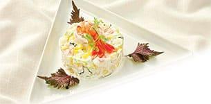 Salad bắp trộn tôm