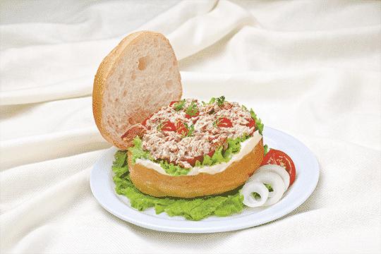 Burger cá ngừ