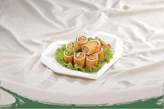 Bánh mì cuộn cá hộp