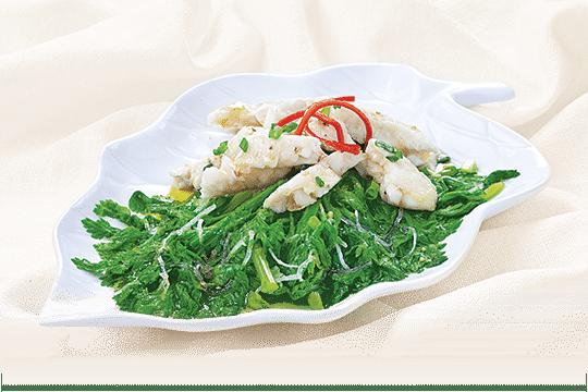 Gỏi cá hấp kiểu Nhật