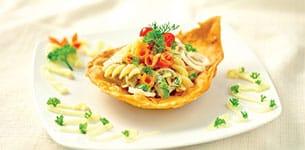 Salad nui cá hồi