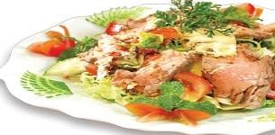 Salad trộn thịt bò
