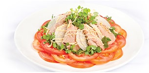 Salad thịt bò cải xoong