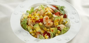 Salad bắp nướng