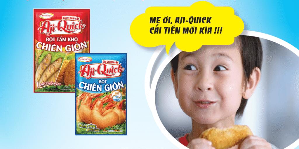 Aji-Quick® CẢI TIẾN MỚI!