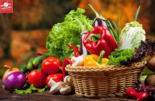 bí quyết chọn rau củ quả
