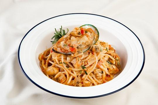 Spagetty xốt vẹm