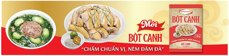 banner bột canh
