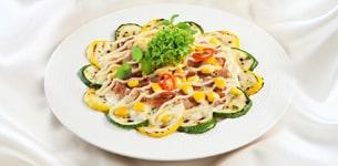 Salad bí ngòi nướng