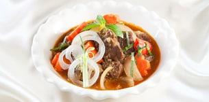 Bò kho nước dừa