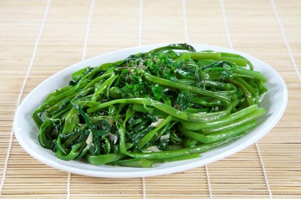 7 bí quyết xào rau củ quả xanh giòn