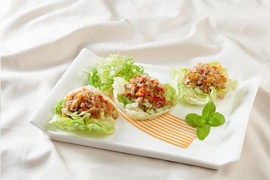 Salad ngũ sắc chay
