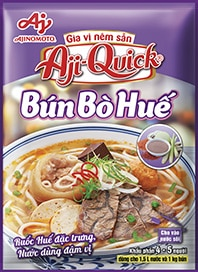 Gia vị nêm sẵn Aji-Quick® Bún Bò Huế