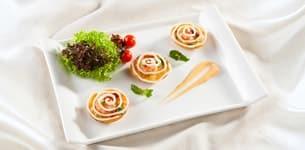 Bánh kim chi hải sản