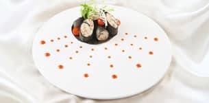 Rong biển cuộn đậu hũ
