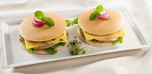 Bánh rán hamburger