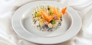 Salad cam đậu đỏ