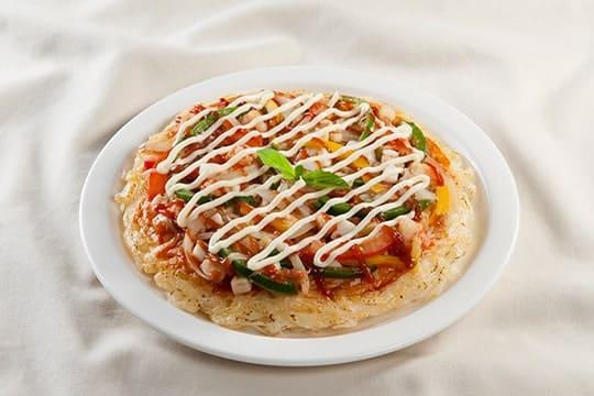 Pizza phở hải sản