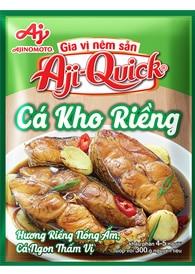 Gia vị nêm sẵn Aji-Quick® Cá Kho Riềng