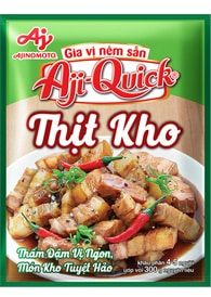 Gia vị nêm sẵn Aji-Quick® Thịt Kho