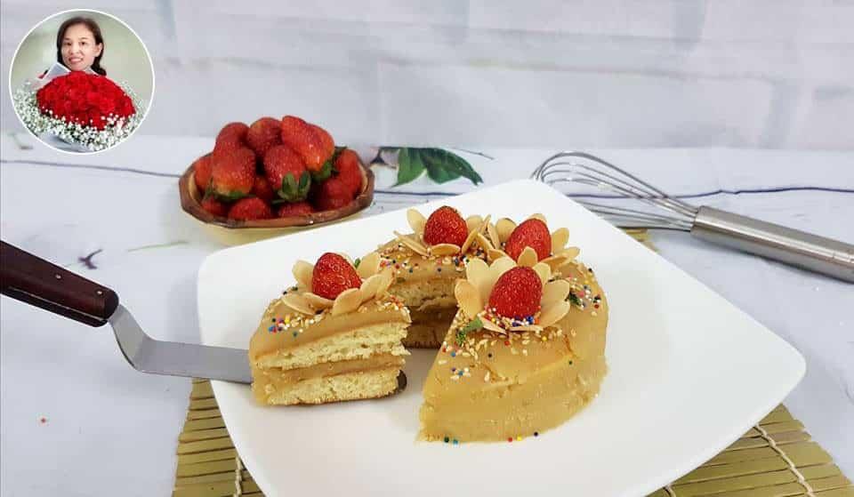 Thách thức món ngon – Pancake kem mè