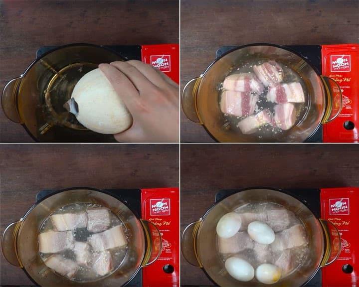Thịt kho trứng – Mang hương vị truyền thống vào ngày Tết