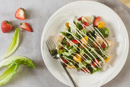 Salad hạt chia