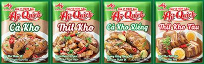 Gia vị món kho Aji-Quick®