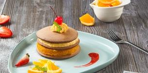 Pancake Custard Trứng