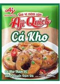 Gia vị món kho Aji-Quick® Cá Kho