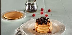 Pancake trà sữa trân châu
