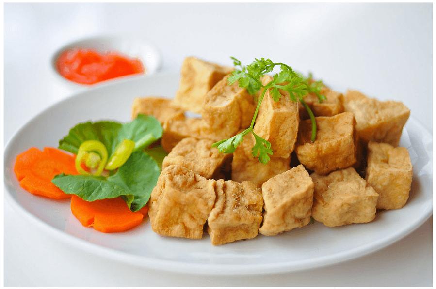 Làm thế nào để món đậu hũ chiên giòn phồng thơm ngon?