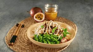 Món Salad hoa thiên lý thịt bò