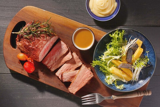 Khoai tây chiên bò nướng