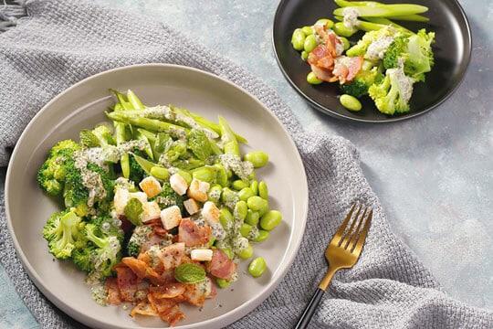 Salad xanh