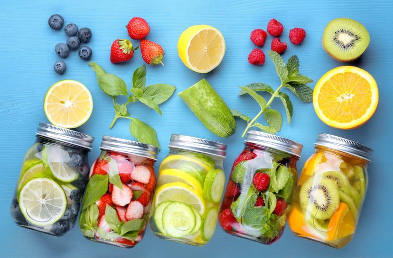 Cách kết hợp trái cây làm Detox, giúp Mẹ bổ sung dinh dưỡng mà không lo tăng cân