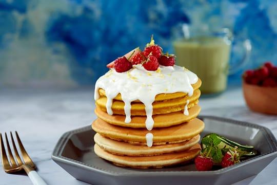 Pancake dành dành
