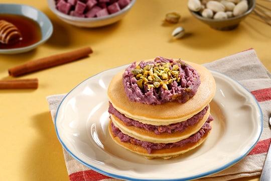Pancake khoai lang mật ong