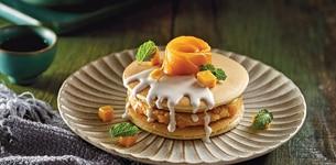 Pancake đậu xanh cốt dừa