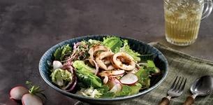 Salad mực ống