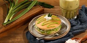 Pancake lá dứa
